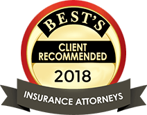 Best's | Client Recommended | 2018 | Insurance Attorneys